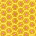Geometric prints - Anna Marie Horners, Little folks voile, Little honey