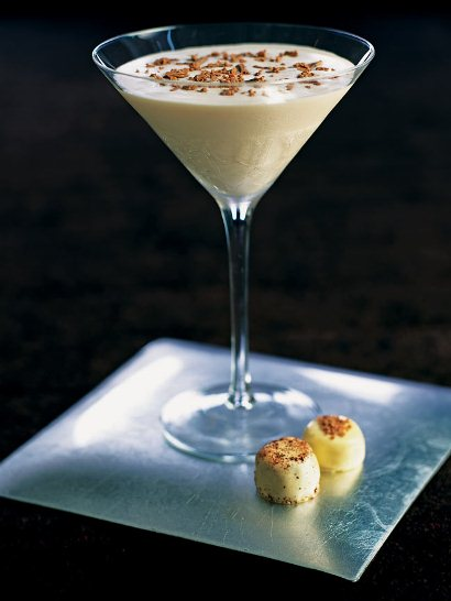 Brandy Alexander cocktail lusciousness