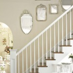 Rose-Filled Vintage Home - Mirrored Stairway