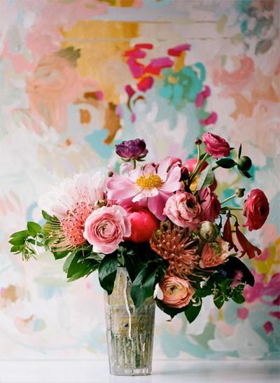 Colourful life - Elegant colour - www.myLusciousLife.com - Art Inspiration
