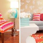 Colourful life - www.myLusciousLife.com - colourful living chairs