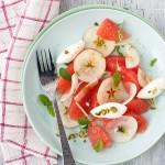 Health and beauty lusciousness - mylusciouslife.com - Lady Apple, Grapefruit and Creme Fraiche Salad