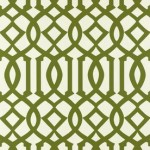 Geometric prints - Imperial Trellis design by Kelly Wearstler