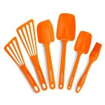 Luscious entertaining - mylusciouslife.com - Rachael Ray Nylon Tools 6-Piece Utensil Set in Orange