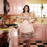 Luscious entertaining - mylusciouslife.com - dita von teese in the kitchen