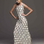 Paco Rabanne wedding dress of white leather and chain links