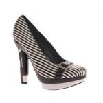 Highest Heel Handgun - Black Stripe