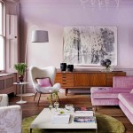 Purple passion - mauve living room