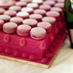 pink cake macarons and champagne - Romance and sensuality - mylusciouslife.com
