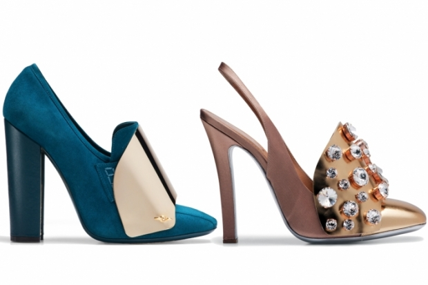 Yves Saint Laurent Spring 2012 Shoe Collection