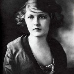 Zelda Sayre Fitzgerald, writer, socialite and wife of F. Scott Fitzgerald