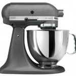 Silver grey Kitchenaid mixer