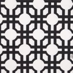 Geometric prints - mood fabrics - Licorice Geometric Prints HC21607