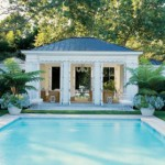mylusciouslife.com - Aerin Lauder Elle Decor swimming pool house
