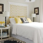 Beautiful bedrooms - Luscious bedroom with yellow and white tones