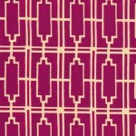 Geometric prints - Walls Violet VOILE