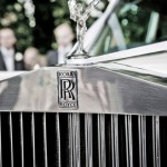 Silver Rolls Royce - hood ornament