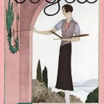 Vintage Vogue magazine covers - mylusciouslife.com - August 3 1929 cover of Vogue