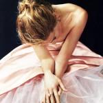 sarah jessica parker - lovely perfume - ballerina frock