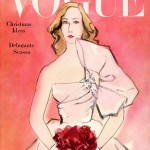 Vintage Vogue magazine covers - mylusciouslife.com - December 1 1945 - vintage cover of Vogue