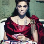 Elisa Sednaoui by Miles Aldridge for Vogue Italia September 2010