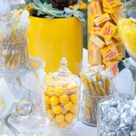 yellow wedding food