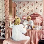 Vintage dressing table romance