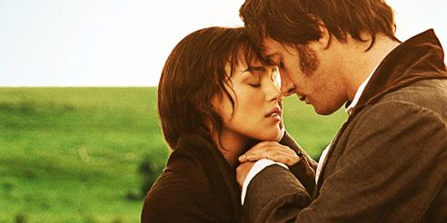 Pride and Prejudice 2005 - mylusciouslife.com - field scene at dawn - Elizabeth Bennet and Mr Darcy