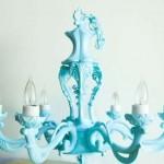 Tiffany blue - mylusciouslife.com - chandelier