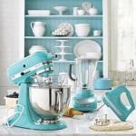 Tiffany blue Kitchenaid appliances
