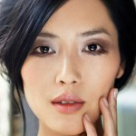 A luscious life - Asian model with beautiful makeup