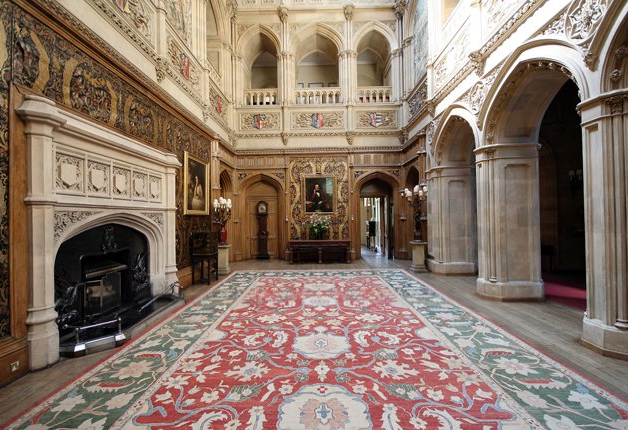 Historical Style Downton Abbey Interiors