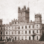 Highclere Castle circa 1857 aka Downton Abbey