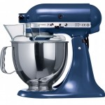 Kitchenaid mixer in blue