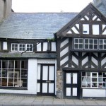 Black and white Tudor style - Beaumaris on the Island of Anglesey