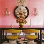 Betsey Johnson apartment - dining room