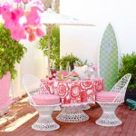 Photos of pink furniture - myLusciousLife.com - House Beautiful - Kristen Ewart