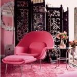 Hot pink decor - myLusciousLife.com - Betsey Johnson