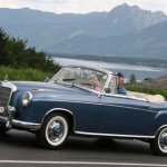 Mercedes Benz vintage - mb_220S_cabrio_blue_mountains