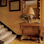 Decorating with animal prints - animal-print-stairs-elle