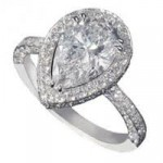 Diamond jewellery - engagement rings