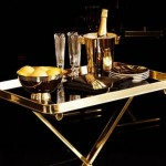 Elegant black and gold ralph lauren home one fifth collection