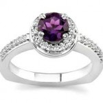 Purple engagement ring ideas