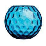 Homes-wishlist-round blue glass Vases