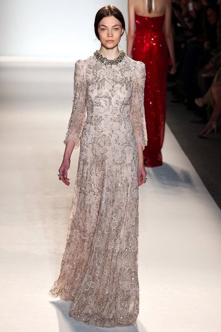 Jenny Packham Fall 2013 RTW collection