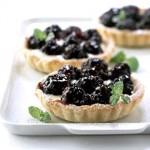 Luscious berry tarts