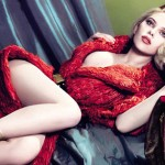 Luscious red photos - Scarlett Johansson