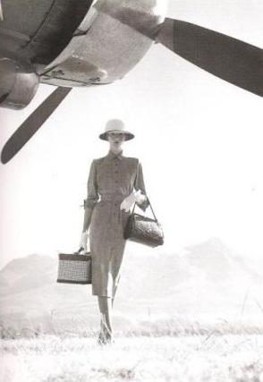 Norman Parkinson photo - British Empire traveller with plane