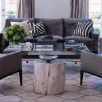 Photos of animal prints - zebra elle decor - furniture decor and accessories
