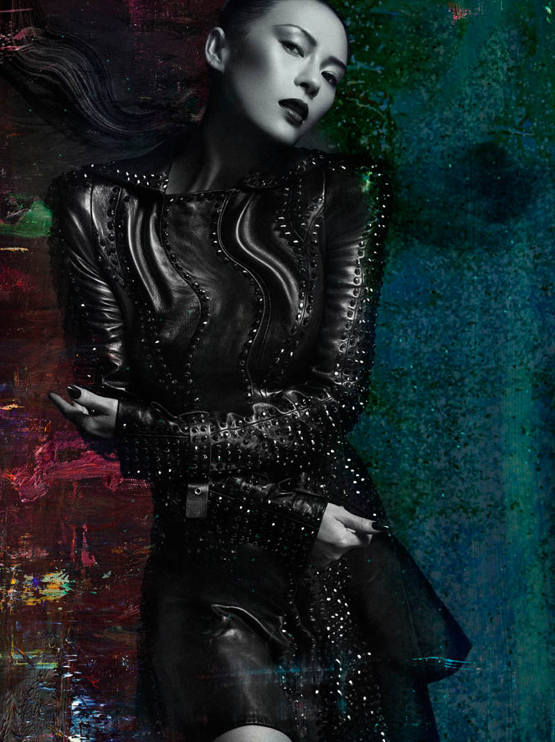 Zhang Ziyi by Hunter and Gatti for Flaunt Magazine November 2012